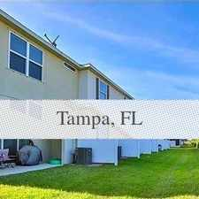 Rental info for Beautiful Townhome In Desirable Park. Pet OK! in the Palm River-Clair Mel area