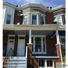 Rental info for 438 E 28th St., Baltimore. in the Harwood area