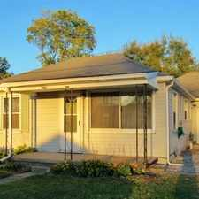 Rental info for Refreshed 2 Br 1 Ba Single Family Home