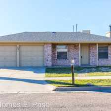 Rental info for 1621 Victor Lopez Dr. in the El Paso area