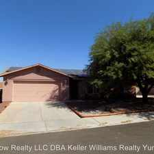 Rental info for 11450 E. 27th Pl. in the Fortuna Foothills area