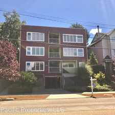 Rental info for 6708 California Ave SW in the Seaview area