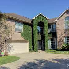 Rental info for Country Club living in Pearland