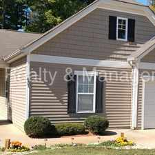 Rental info for Very Nice Three Bedroom Ranch House near Whitewater Center !! in the Wildwood area