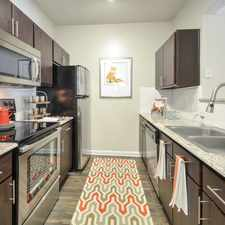 Rental info for Villas at Hermann Park in the Houston area