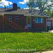 Rental info for 1327 W Illinois Ave