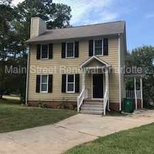 Rental info for Charming Home In Matthews in the Charlotte area