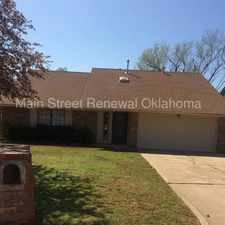 Rental info for Beautiful Home with Fireplace! in the Oklahoma City area