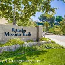 Rental info for 7653 Mission Gorge Road Unit 48 in the Allied Gardens area