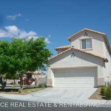 Rental info for 8444 Lost Gold Ave.