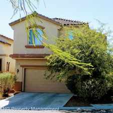 Rental info for 9549 Parker Springs