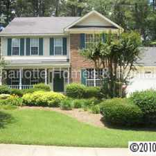 Rental info for Nice Home In Huntersville - 4 bed, 2.5 baths in the Charlotte area
