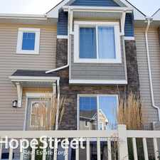 Rental info for 5317 3 Avenue SW - 3 Bedroom Townhome for Rent in the Charlesworth area