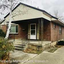 Rental info for 1730-1732 South 1900 East