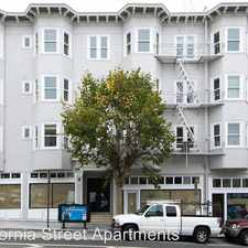 Rental info for 1501-1515 California Street in the Lower Nob Hill area