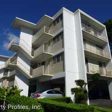 Rental info for 1830 PUNAHOU STREET in the Manoa area