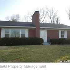 Rental info for 713 Indian Ridge Road in the 47130 area