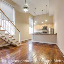 Rental info for 1321 E. Main St. in the Upper Shockoe Valley area