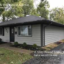 Rental info for 3627 N Brentwood Avenue in the Northeastwood area