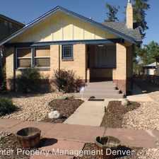 Rental info for 4533 W 34th Ave Denver County in the West Highland area