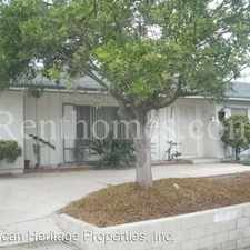 Rental info for 600 Mariposa Circle in the Castle Park area