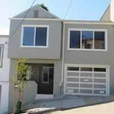 Rental info for 126 Bronte Street in the Bernal Heights area