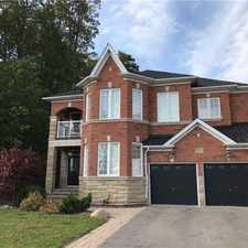Rental info for 216 Tower Hill Road in the Vaughan area