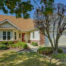 Rental info for 13424 Tall Pines Ln in the Romeoville area