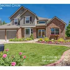 Rental info for 6711 Secrest Circle in the Arvada area