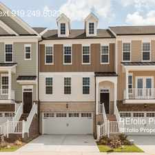 Rental info for 871 Tunisian Drive in the Cary area