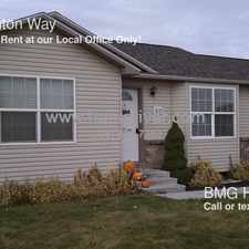 Rental info for 315 Creighton Way