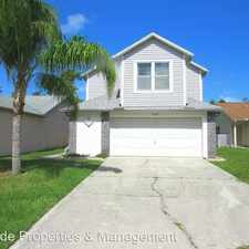 Rental info for 3039 Dunhill Drive in the 32922 area