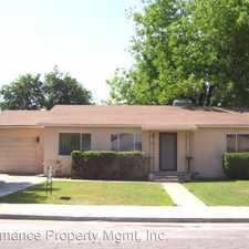 Rental info for 3774 E. Terrace Ave. in the Fresno area