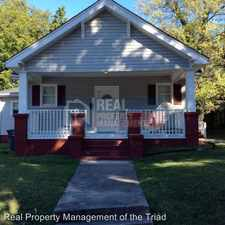 Rental info for 1031-A Pearson Street in the Asheboro Community area
