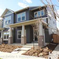 Rental info for 5963 Boston Street in the Commerce City area