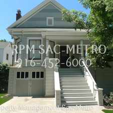 Rental info for 2404 L St. in the Sacramento area