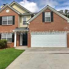 Rental info for 4896 Browns Mill Ferry Road