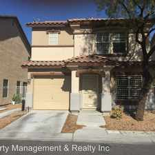 Rental info for 1204 Orchard View St in the Sunrise Manor area