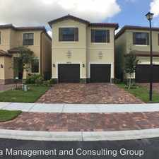Rental info for 4832 NW 56 Court
