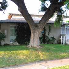 Rental info for NICE 2 BEDROOM TOWNHOUSE GARDEN STYLE PROPERTY in the Santa Ana area