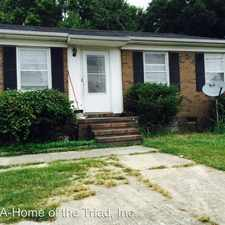Rental info for 1316 W. Meadowview in the Greensboro area