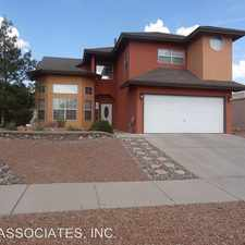 Rental info for 916 SUN RIDGE in the Chaparral Park North area