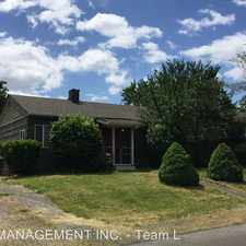 Rental info for 8234 NE Webster in the Cully area