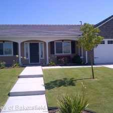 Rental info for 13211 Evening Breeze Ave in the Bakersfield area
