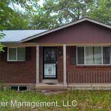 Rental info for 1222 De Reamer Circle in the Rustic Hills area