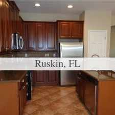 Rental info for House For Rent In RUSKIN. in the Sun City Center area