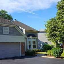 Rental info for Beautiful Home Located In The Heart Of Lake Zur... in the Lake Zurich area
