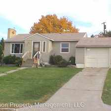 Rental info for 2132 W. Shannon in the 99205 area