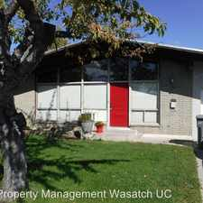 Rental info for 109 East 200 South in the American Fork area