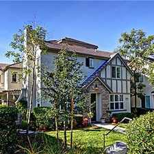 Rental info for Loden Pass in the Ladera Ranch area